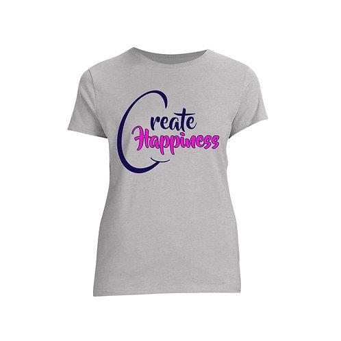 Women's Dark Gray T-Shirt (Original Logo)