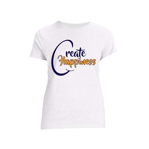 Women's White T-Shirt (Original Logo)