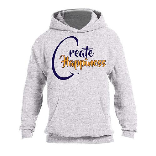 Men's Gray Hooded Sweatshirt (Original Logo)
