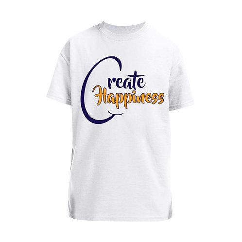 Boys' White T-Shirt (Original Logo)