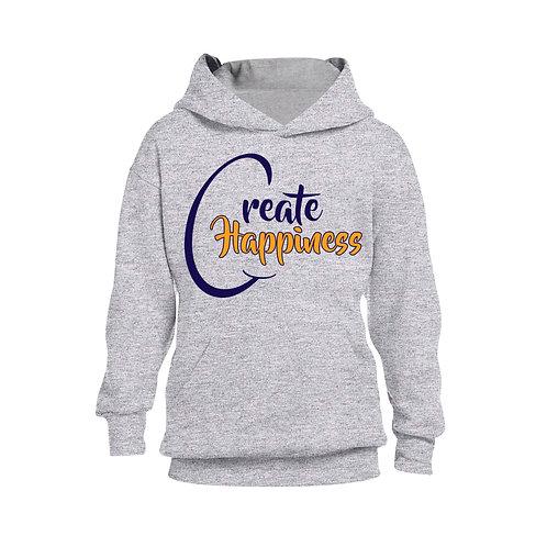 Youth Gray Hooded Sweatshirt (Original Logo)