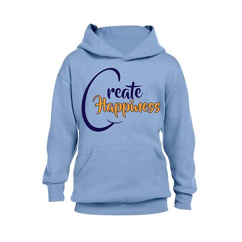 Youth Blue Hooded Sweatshirt (Original Logo)