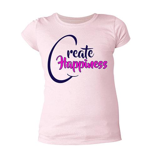 Girls' Pink T-Shirt (Original Logo)