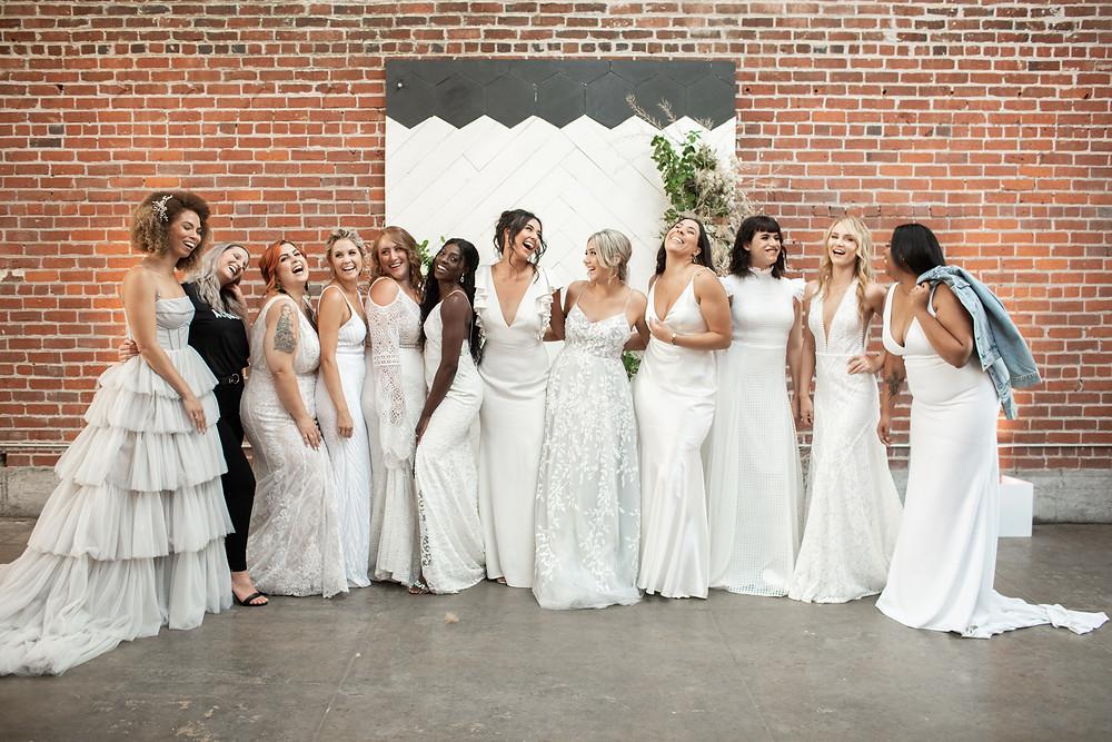 full bridal gown models tips
