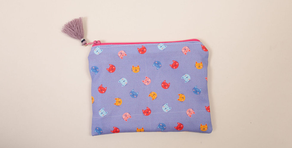 Feline Pawsitive, Mad, Sad, and More - Everyday Pouch