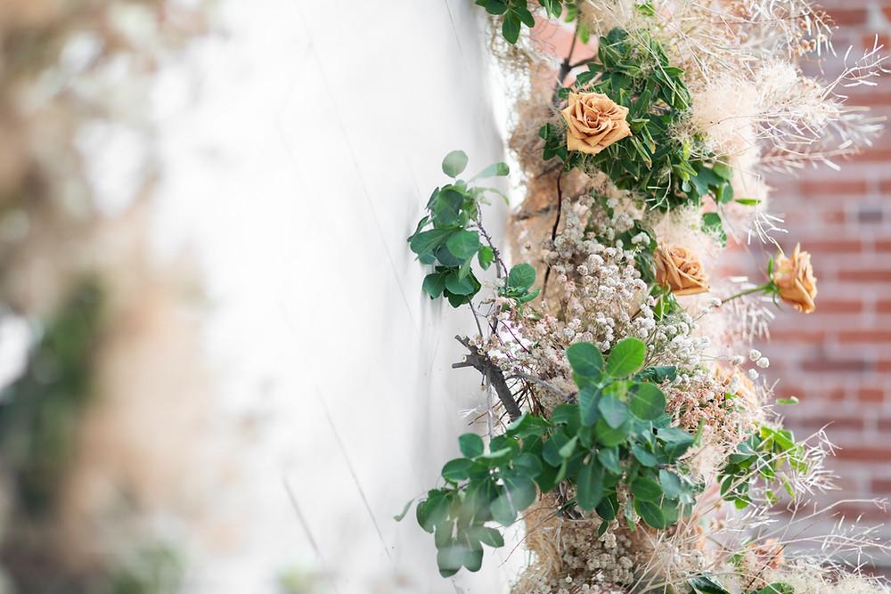 close up floral design tips