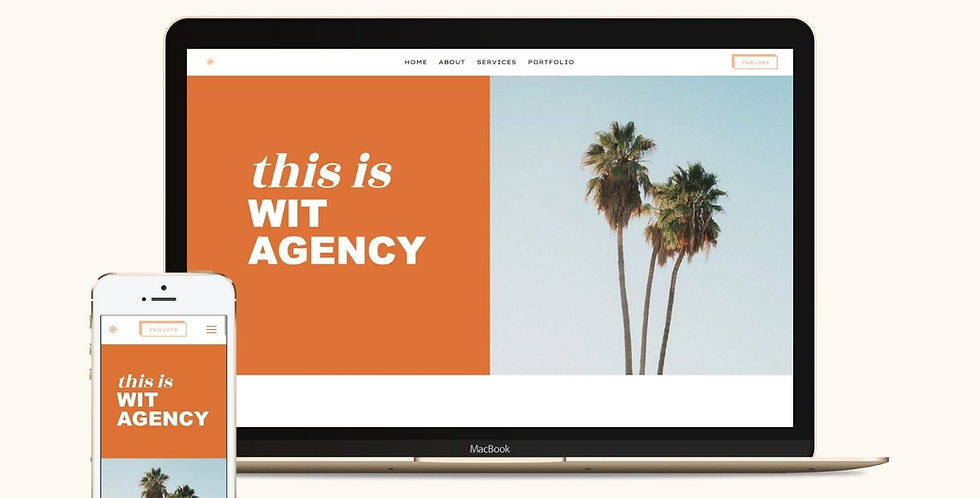Wit - WIX website template