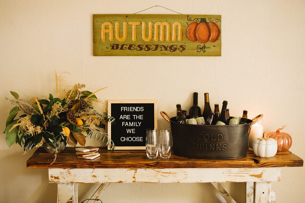 drink station decor