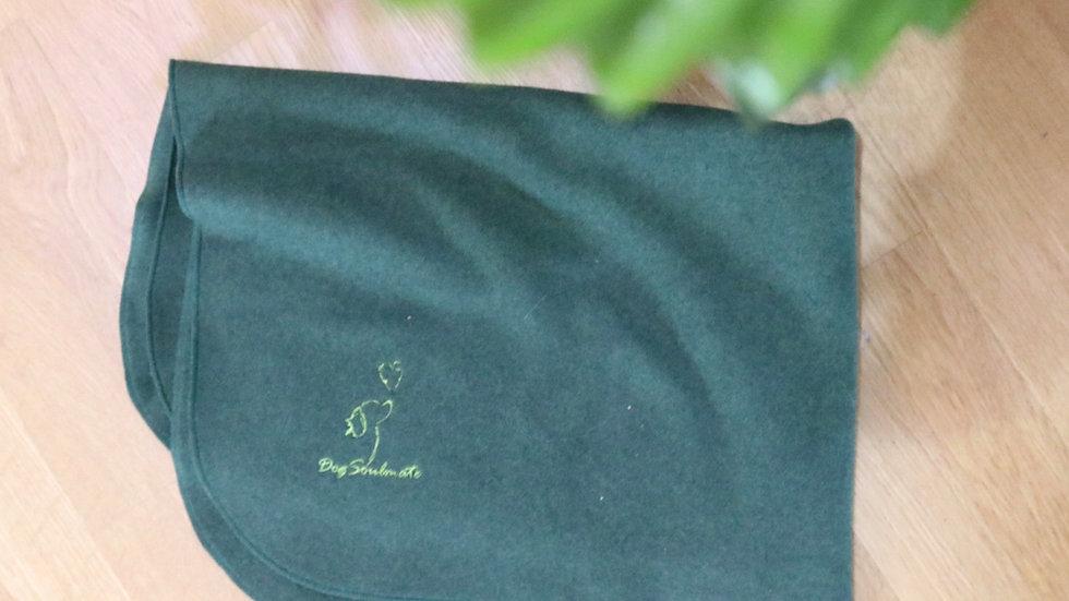 Bio-Fleece Hundedecke grün