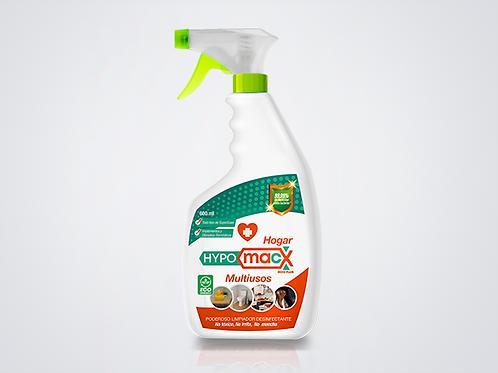 Hypomacx 600ml Spray, Desinfectante Multiusos solución de Ácido Hipocloroso.