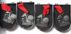 2nd Place medals