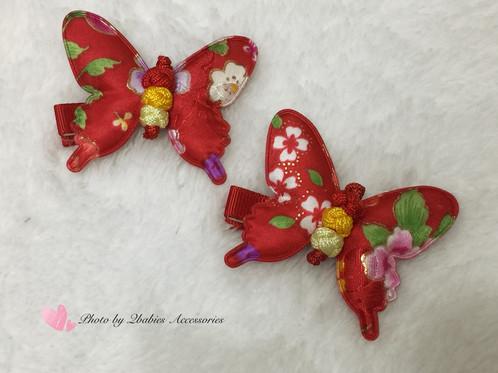 butterfly hair clip qb accessories