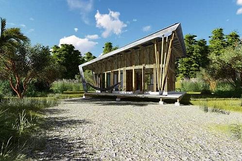 casa guadua bambú