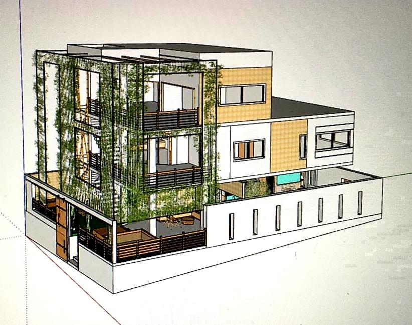Pilgrim House 3D