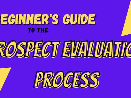 A Beginner's Guide to the Prospect Evaluation Process