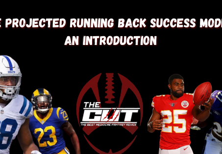 Projected Running Back Success Model: An Analytical Introduction
