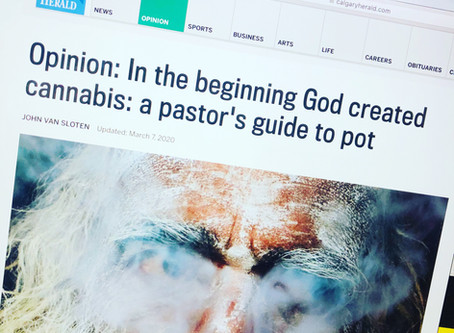 In the Beginning God Created Cannabis
