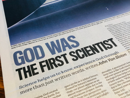 God Was the First Scientist