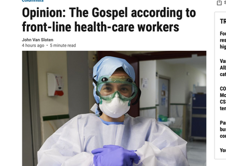The Gospel According to Frontline Healthcare Workers