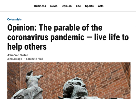 The Parable of the Coronavirus Pandemic