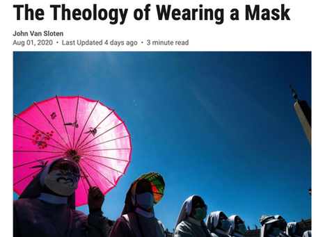 The Theology of Wearing a Mask