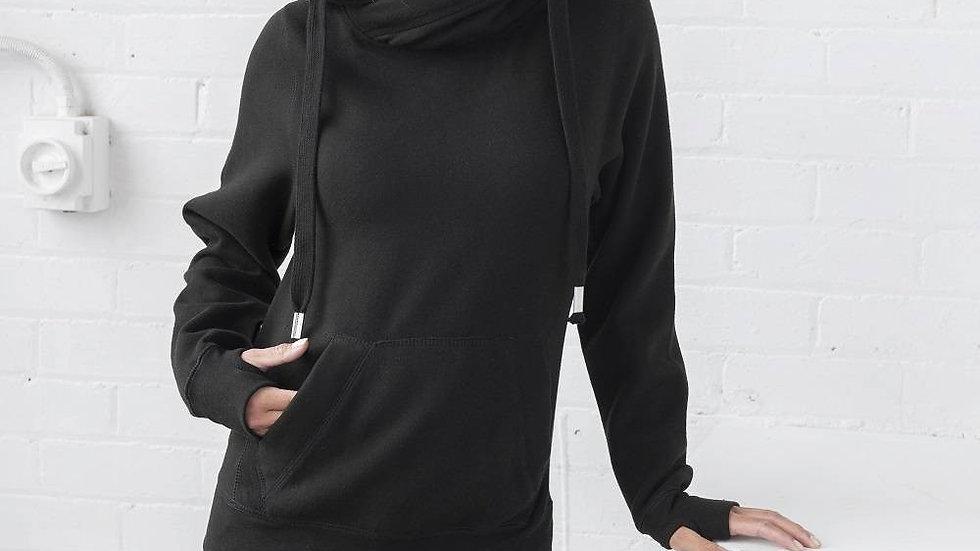 Personalised cross neck hoodie