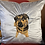Thumbnail: Bespoke Personalised pet embroidered cushion cover