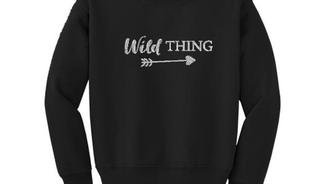 Wild Thing Childrens Sweatshirt