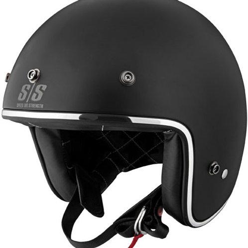 Black in Black, matte black helmet