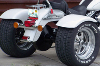 Softail kit with fenders