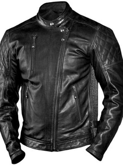 Roland Sands Design Clash Leather Jacket black/red