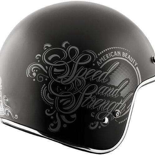 American beauty matte black Helmet