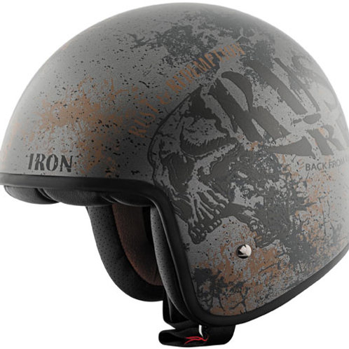 Speed & strength Rust & redemption helmet