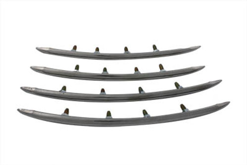 Rear Fender Top Stainless Steel Trim Set 1949-1957