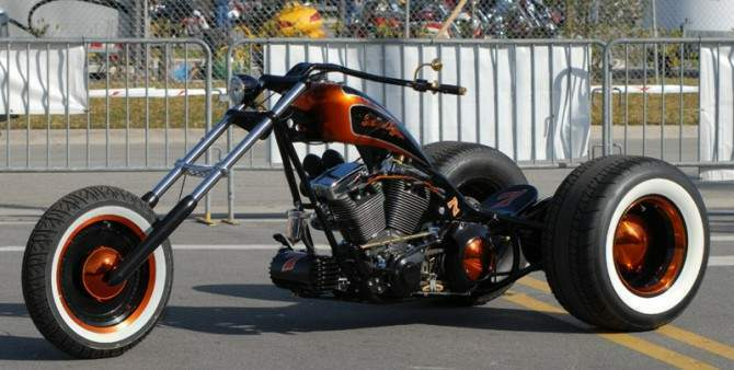 Santiago Chopper Trike Barry Sheene