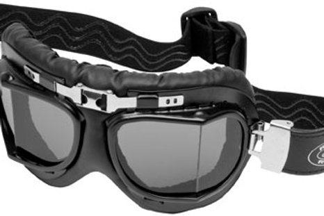 River road baron aviator goggles smoke lens