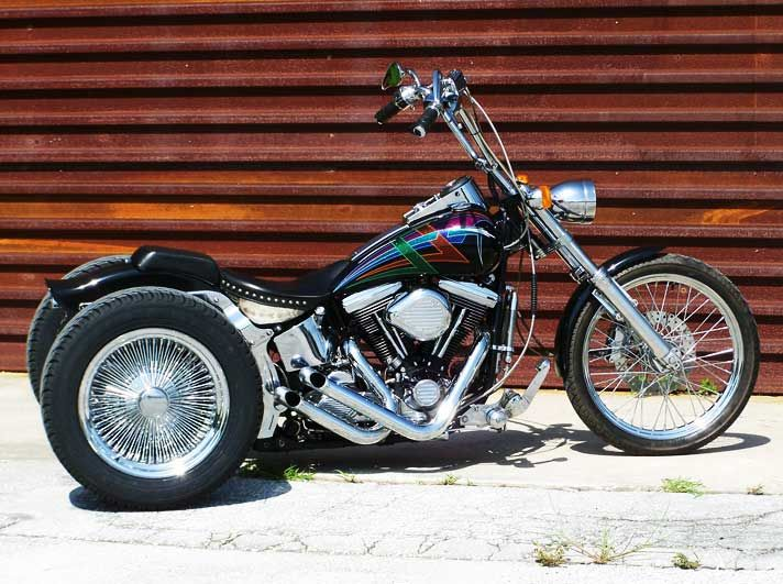 Harley Softail trike conversion