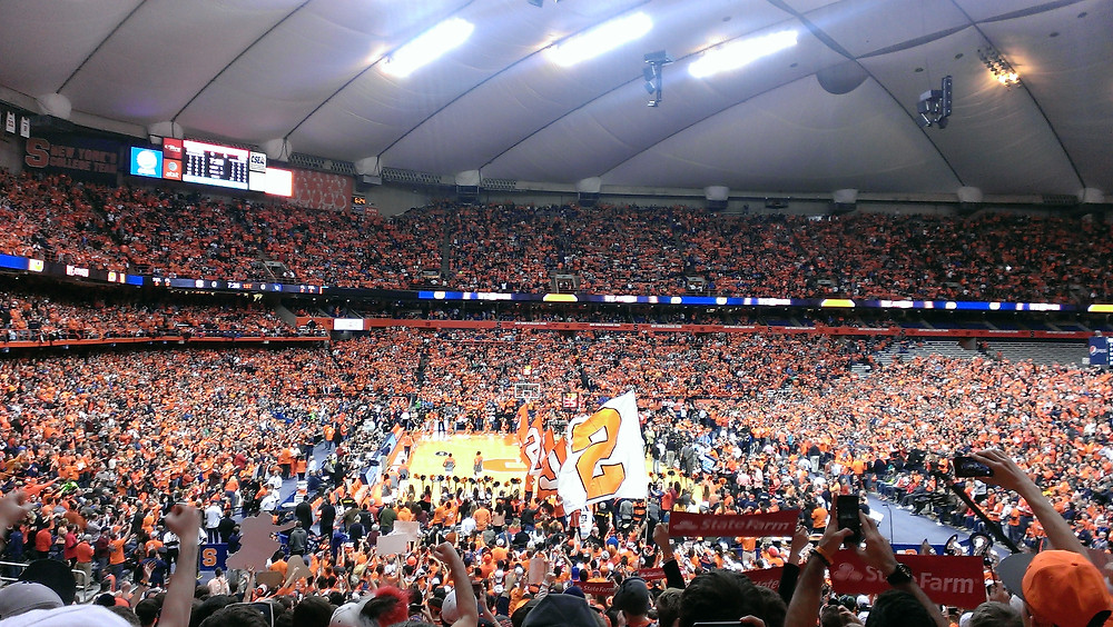 Syracuse University Basketball Game in the Carrier Dome