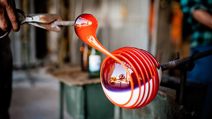 Glassmaking at the Corning Glass Museum