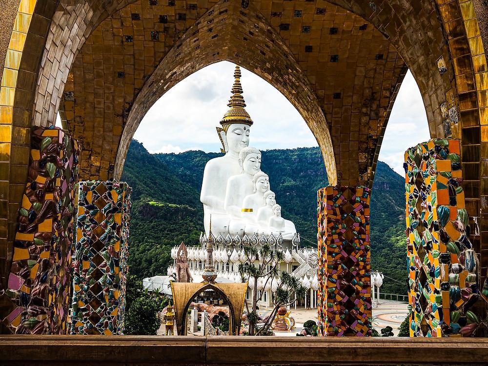 Wat Phra That Pha Son Kaeo, Khao Kho, Thailand