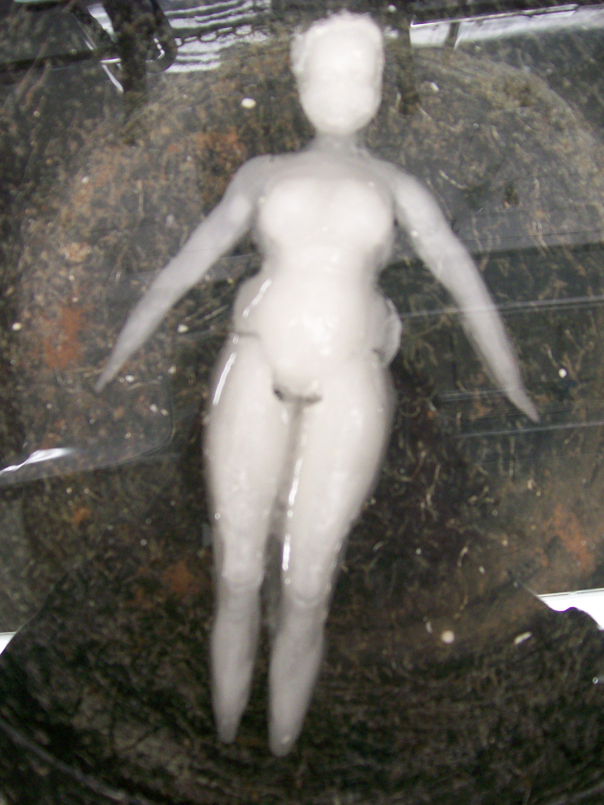 Maquette (Barbie as Ophelia), 2010