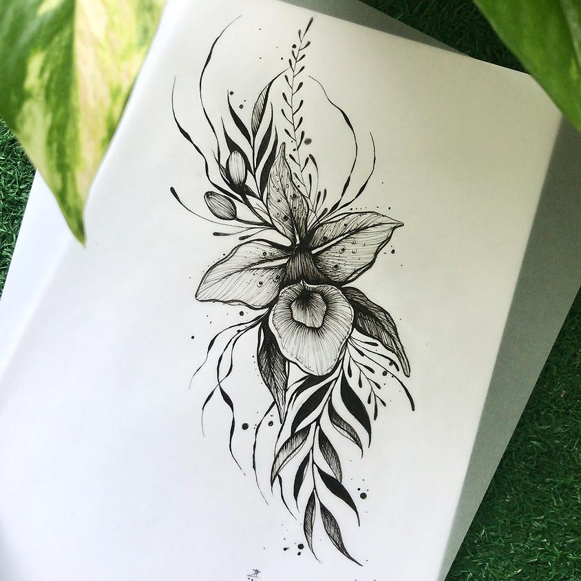 Flash Tattoo na Casa JS