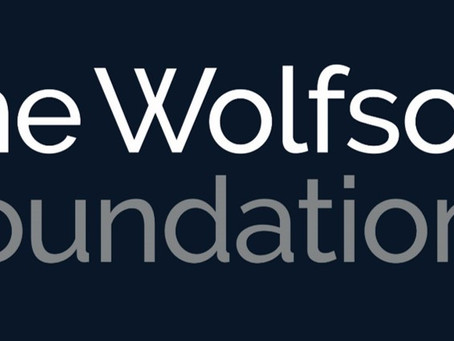 £100,000 from the Wolfson Foundation