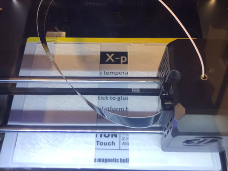 We have got a 3D Printer!