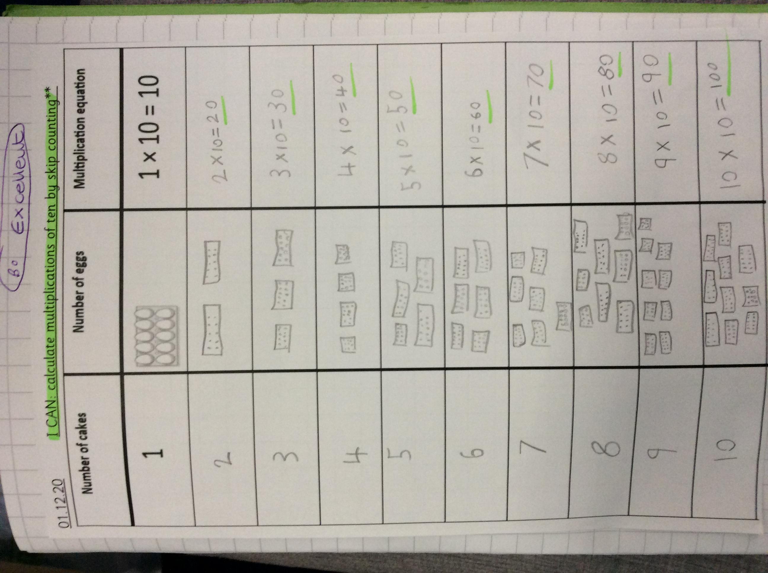 Darcie's brilliant maths!