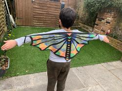 Elias's incredible wings!