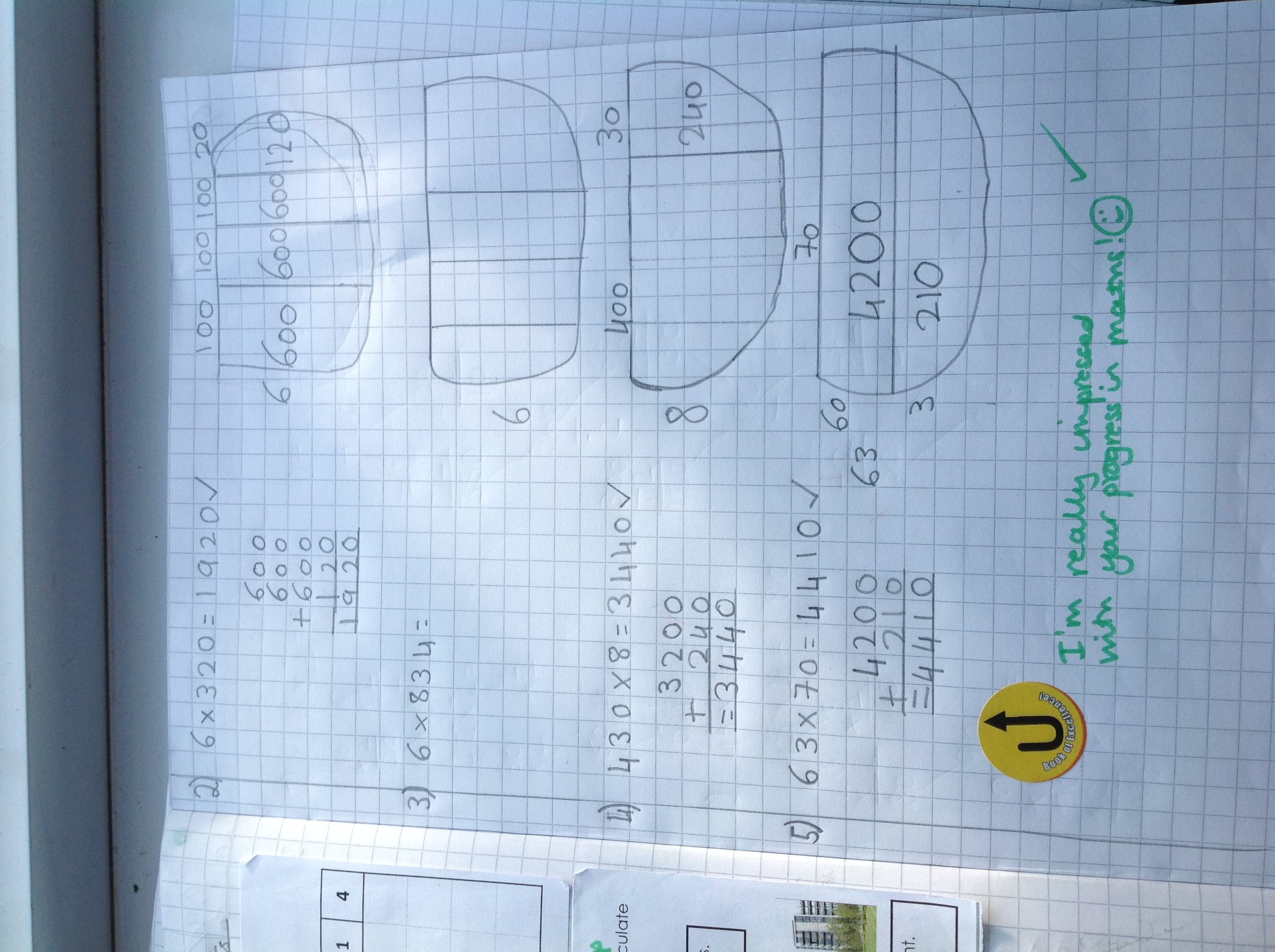 Diana's excellent maths!