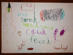 Stanley's excellent 'tch' words poster!.