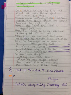 Suchay's fantastic story ending!