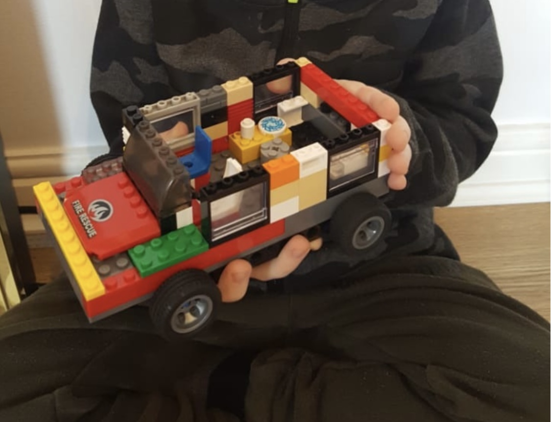 Vladyslav's amazing car model!